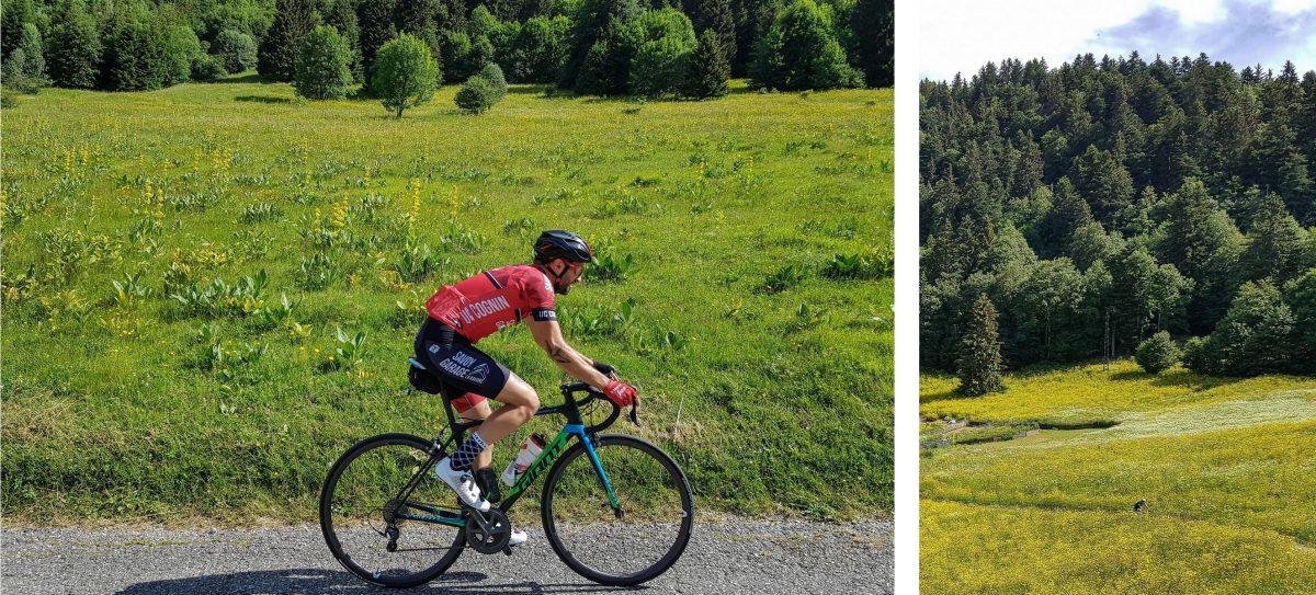Cyclisme vélo route Massif de la Chartreuse Isère Alpes France - Paysage Montagne Outdoor French Alps Mountain Landscape road bike