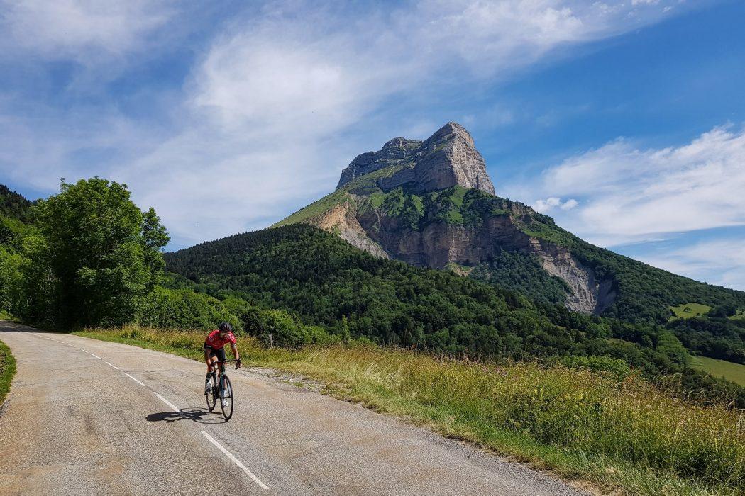 Cyclisme vélo route Col du Coq Dent de Crolles Massif de la Chartreuse Isère Alpes France - Paysage Montagne Outdoor French Alps Mountain Landscape road bike