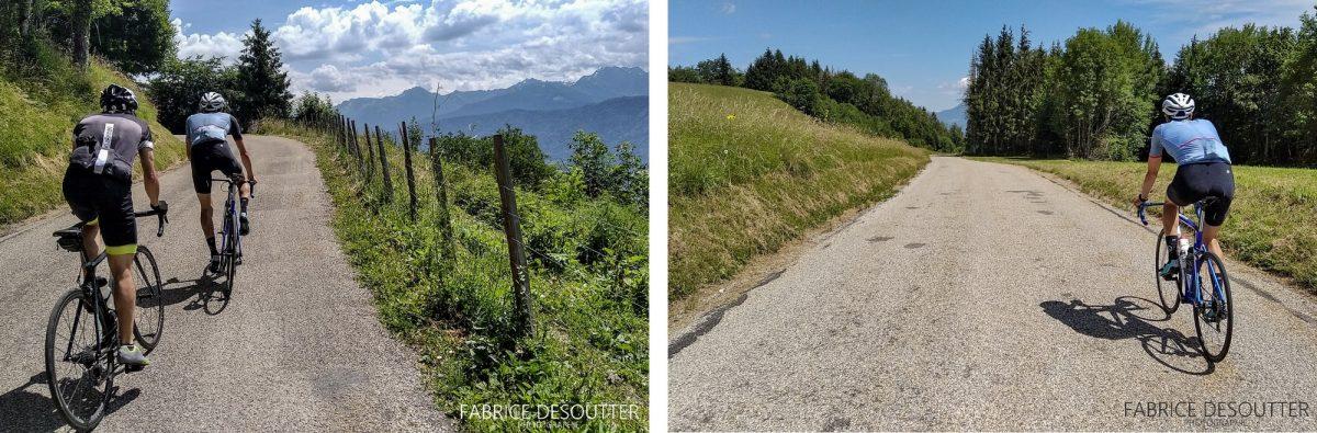 Cyclisme vélo route Plateau-des-Petites-Roches Massif de la Chartreuse Isère Alpes France - Paysage Montagne Outdoor French Alps Mountain Landscape road bike