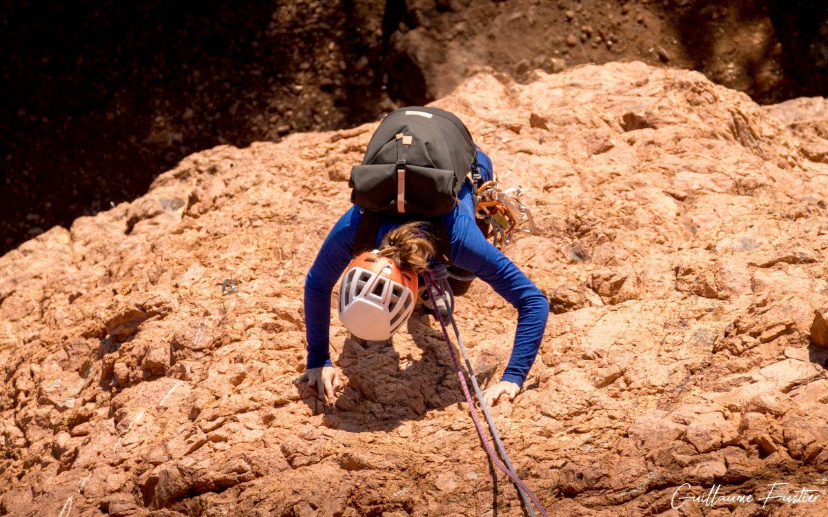 Test du sac à dos Mini-Squamish MeroMero rool-top backpack review mountain climbing escalade montagne