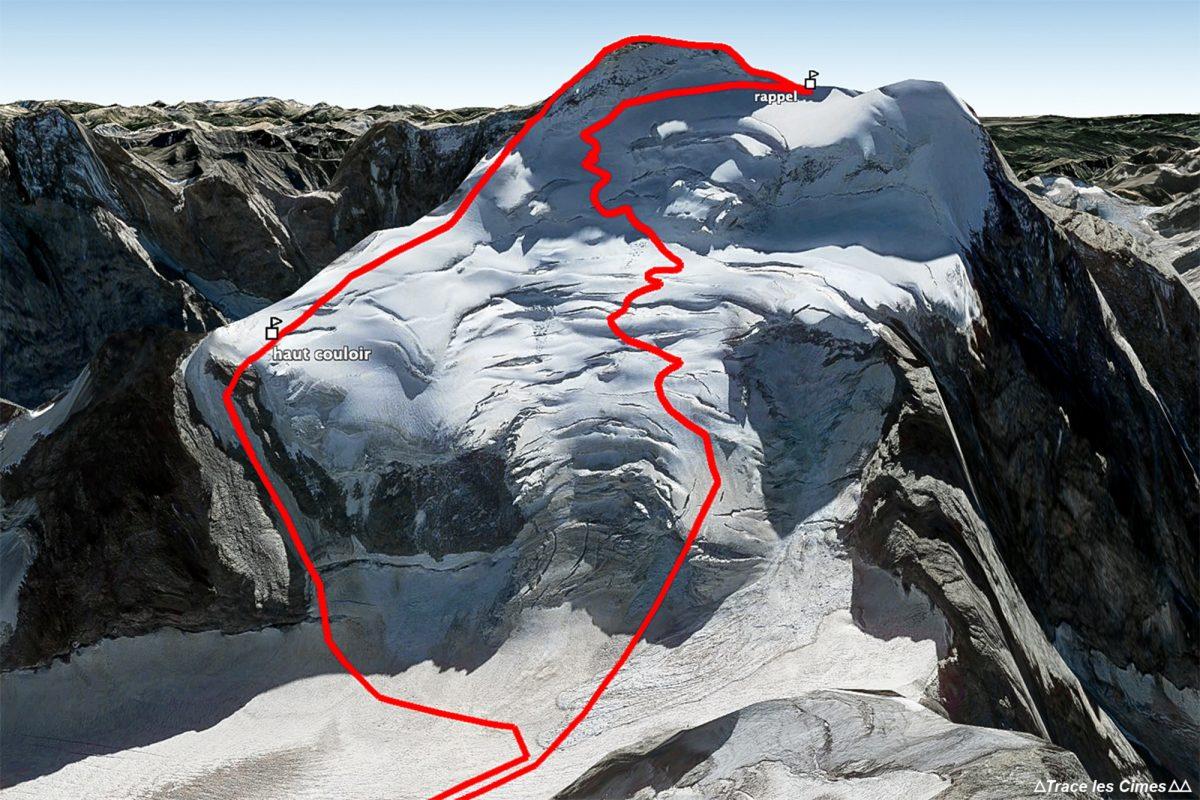 Topo Alpinisme petite Traversée Barre des Écrins Hautes-Alpes France Montagne France Outdoor French Alps Mountain Mountaineering