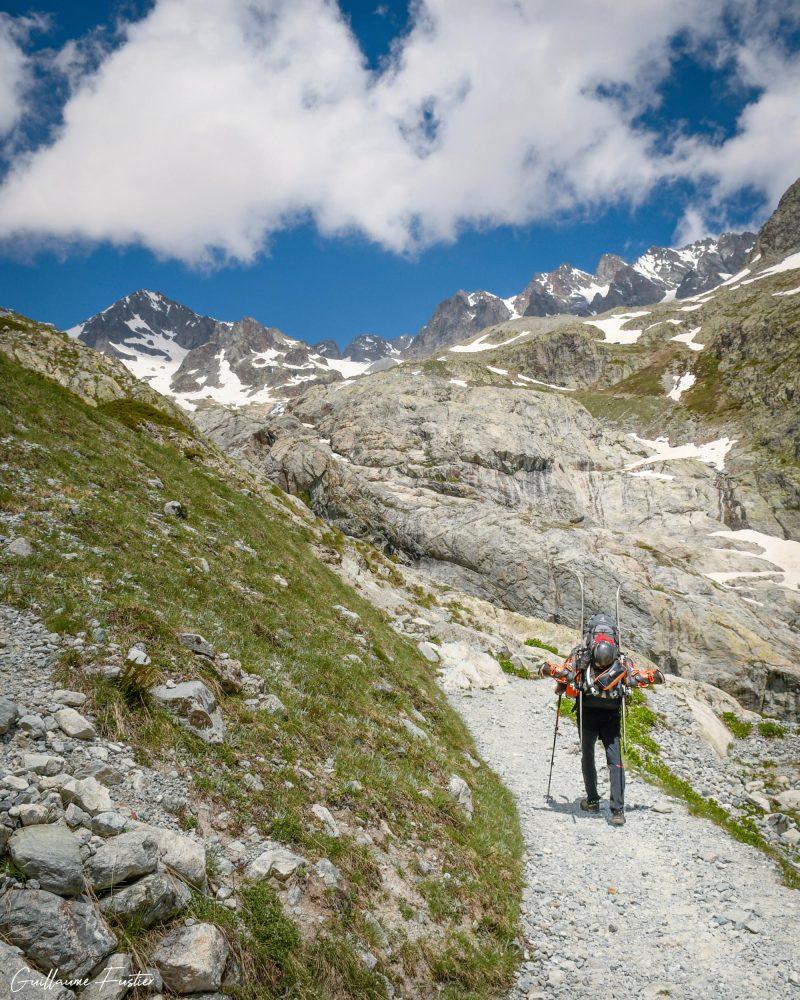Randonnée Glacier Blanc Hautes-Alpes Paysage Montagne France Outdoor French Alps Mountain Landscape