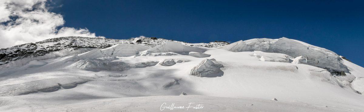 Alpinisme Barre des Écrins Hautes-Alpes Paysage Montagne neige France Outdoor Mountaineering French Alps Mountain Landscape snow