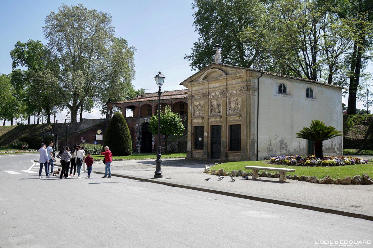 Porte Remparts Lucques Toscane Italie Voyage Tourisme - Porta San Pietro Mura di Lucca Toscana Italia Travel Italy Tuscany