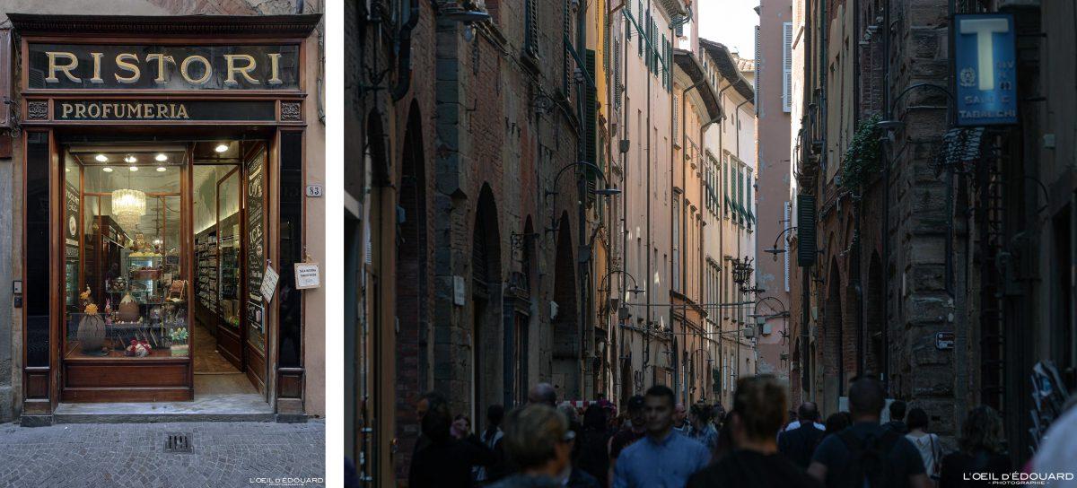 Rue de Lucques Toscane Italie Voyage Tourisme - Via di Lucca Toscana Italia Travel Italy Tuscany street