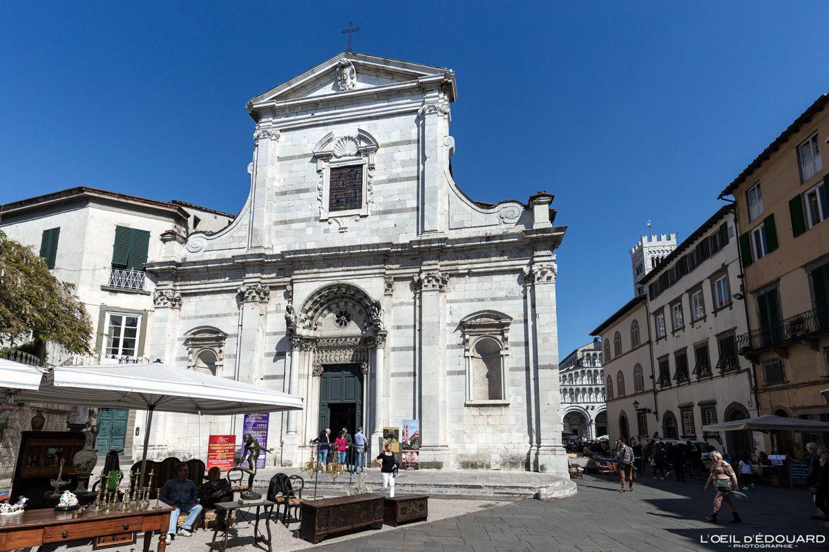 Église de Lucques Toscane Italie Voyage Tourisme - Chiesa Santi Giovanni e Reparata Lucca Toscana Italia Travel Italy Tuscany Italian church architecture