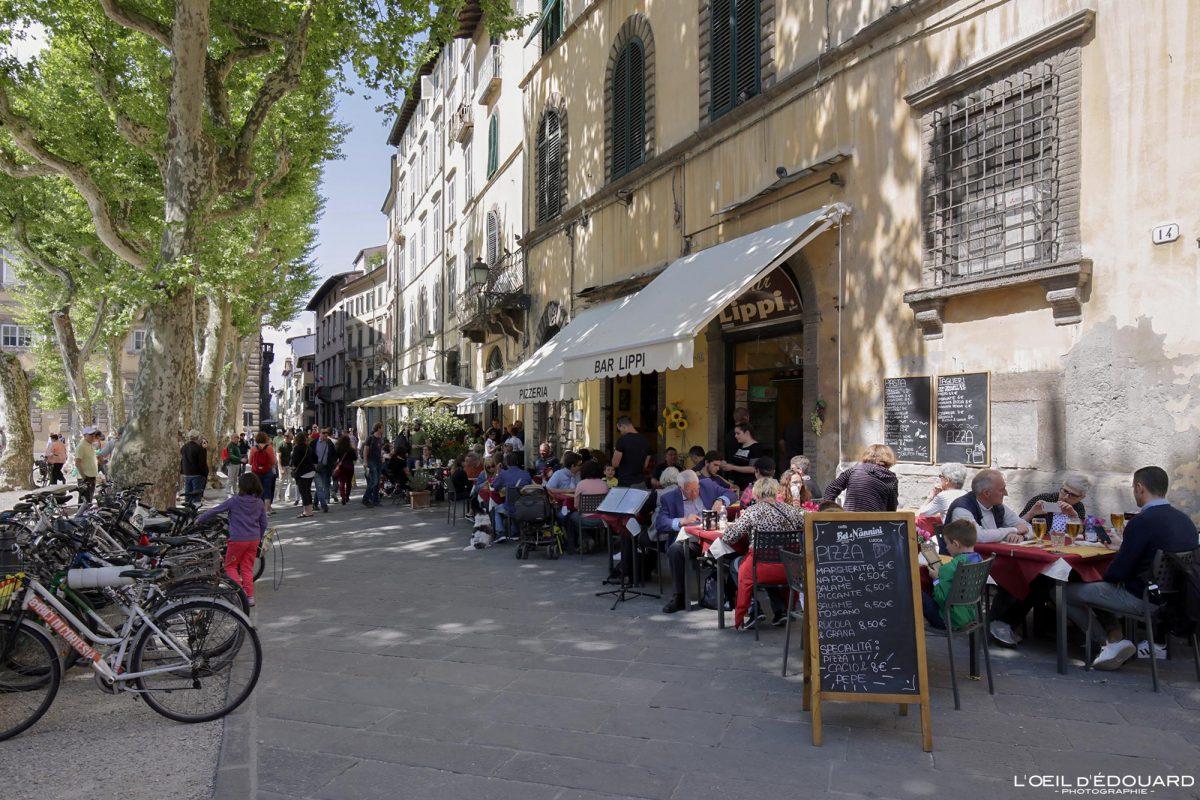 Piazza Napoleone Lucques Toscane Italie Voyage Tourisme - Ristorante Bar Lippi Lucca Toscana Italia Travel Italy Tuscany