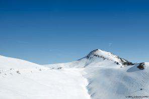 Sommet du Charmant Som en hiver Massif de la Chartreuse Isère Alpes Paysage Montagne Ski de Randonne Raquettes Neige France Outdoor French Alps Mountain Landscape Winter Hike Hiking Snow Skiing Ski Touring