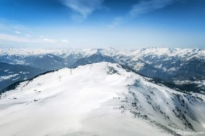 Le Quermoz Massif du Beaufortain Savoie Alpes France Paysage Montagne Ski de randonnée Hiver Neige Outdoor French Alps Mountain Landscape Winter Snow Ski touring