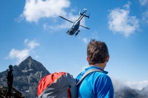 Hélicoptère Secours en Montagne Secourisme Outdoor Mountain Rescue copter