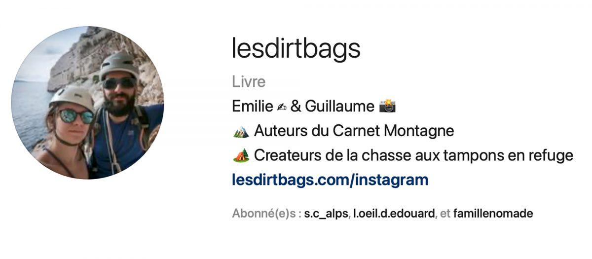 Les Dirtbags - Instagram