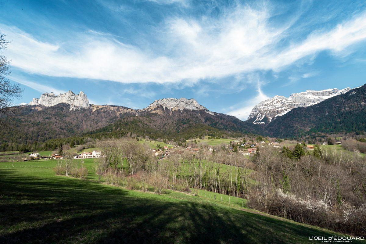 Vérel Dents de Lanfon Lanfonnet Haute-Savoie Alpes Montagne Paysage France Outdoor French Alps Mountain Landscape