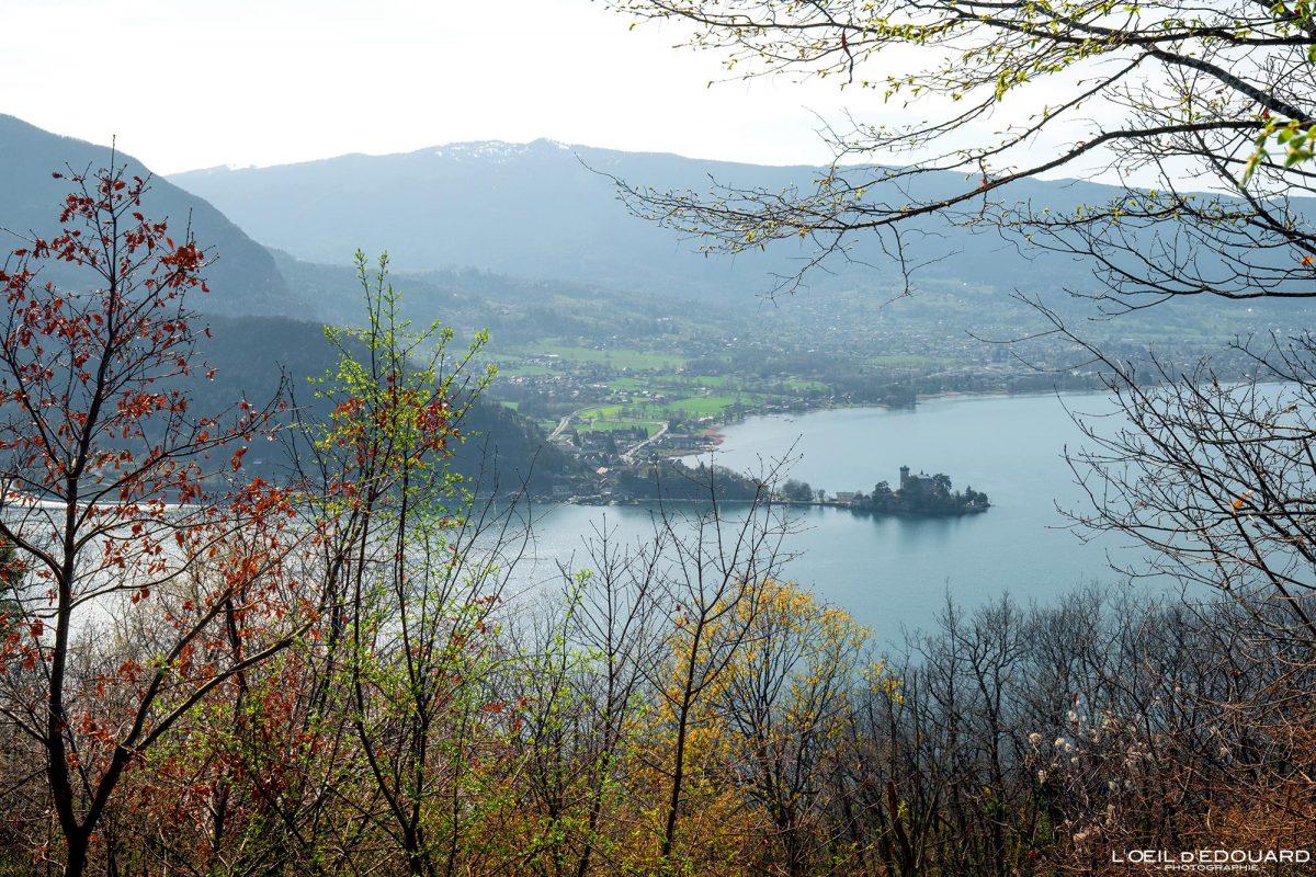 Château de Duingt Lac d'Annecy Haute-Savoie Alpes Montagne Paysage France Outdoor French Alps Mountain Landscape Lake