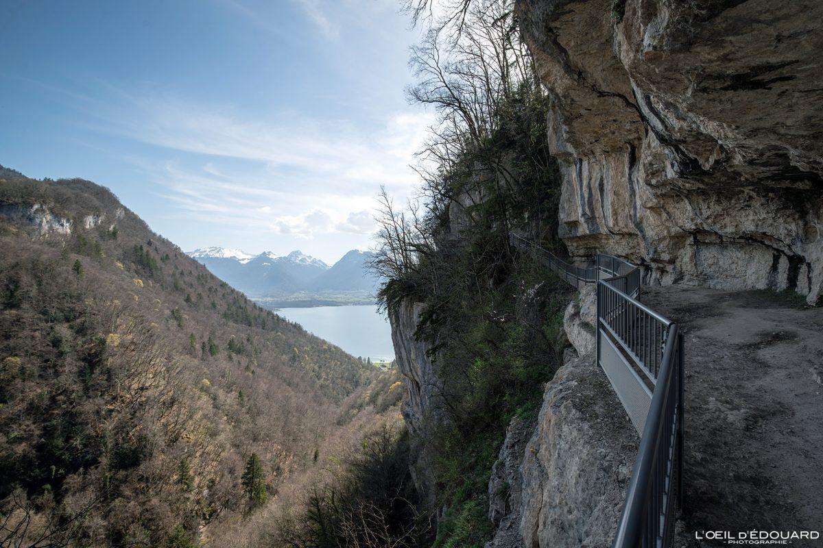 Randonnée Cascade d'Angon Lac d'Annecy Haute-Savoie Alpes Montagne Paysage France Outdoor French Alps Mountain Landscape Hike Hiking