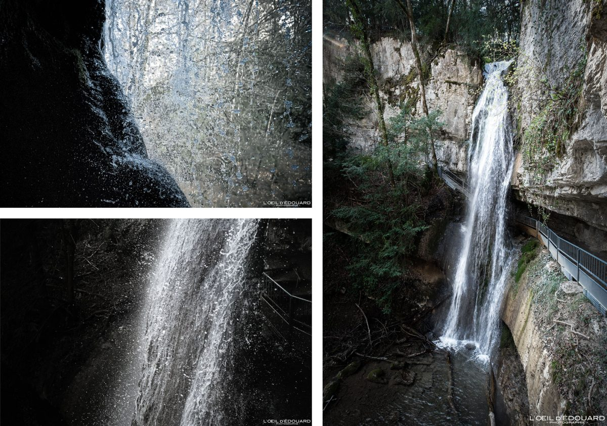 Randonnée Cascade d'Angon Lac d'Annecy Haute-Savoie Alpes Montagne Paysage France Outdoor French Alps Mountain Waterfall