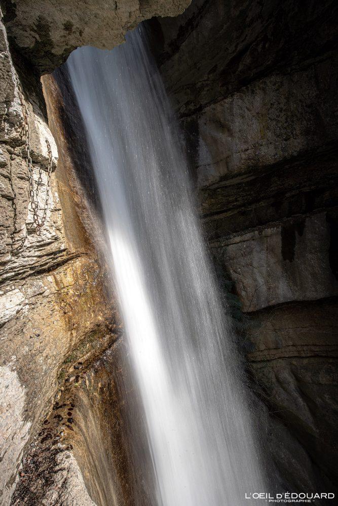 Cascade d'Angon Haute-Savoie Alpes Randonnée Lac d'Annecy Montagne France Outdoor French Alps Mountain Waterfall