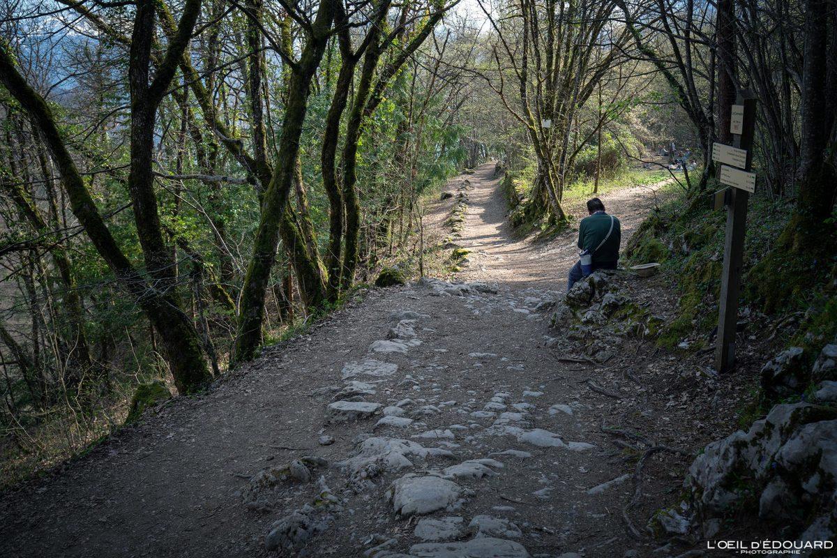 Randonnée Cascade d'Angon depuis Vérel Lac d'Annecy Haute-Savoie Alpes Montagne Paysage France Outdoor French Alps Mountain Landscape Hike Hiking Trail