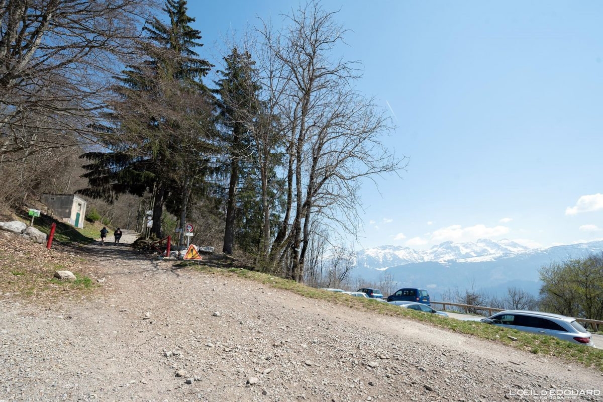 Départ Chez Béroud Randonnée Le Môle Massif du Chablais Haute-Savoie Alpes France Montagne Outdoor French Alps Mountain Hike Hiking trail