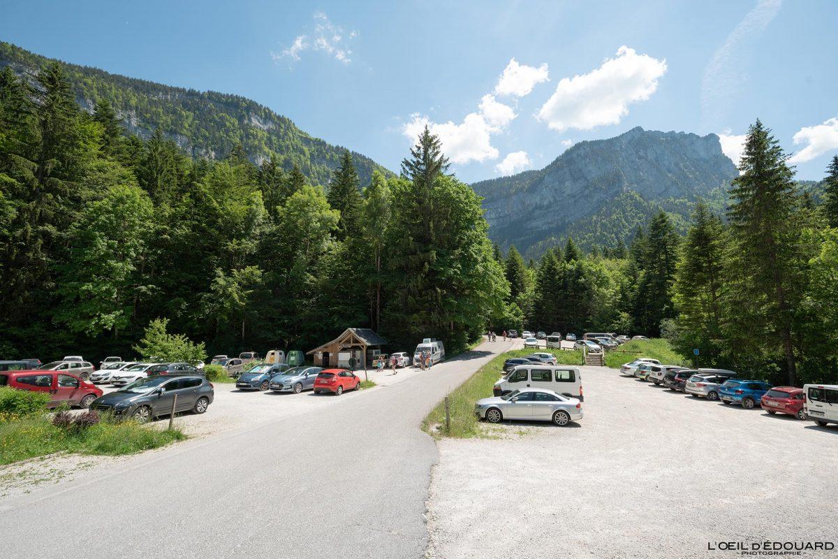 Parking Cirque de Saint-Même Massif de la Chartreuse Savoie Alpes France Randonnée Montagne Paysage Outdoor French Alps Mountain Landscape