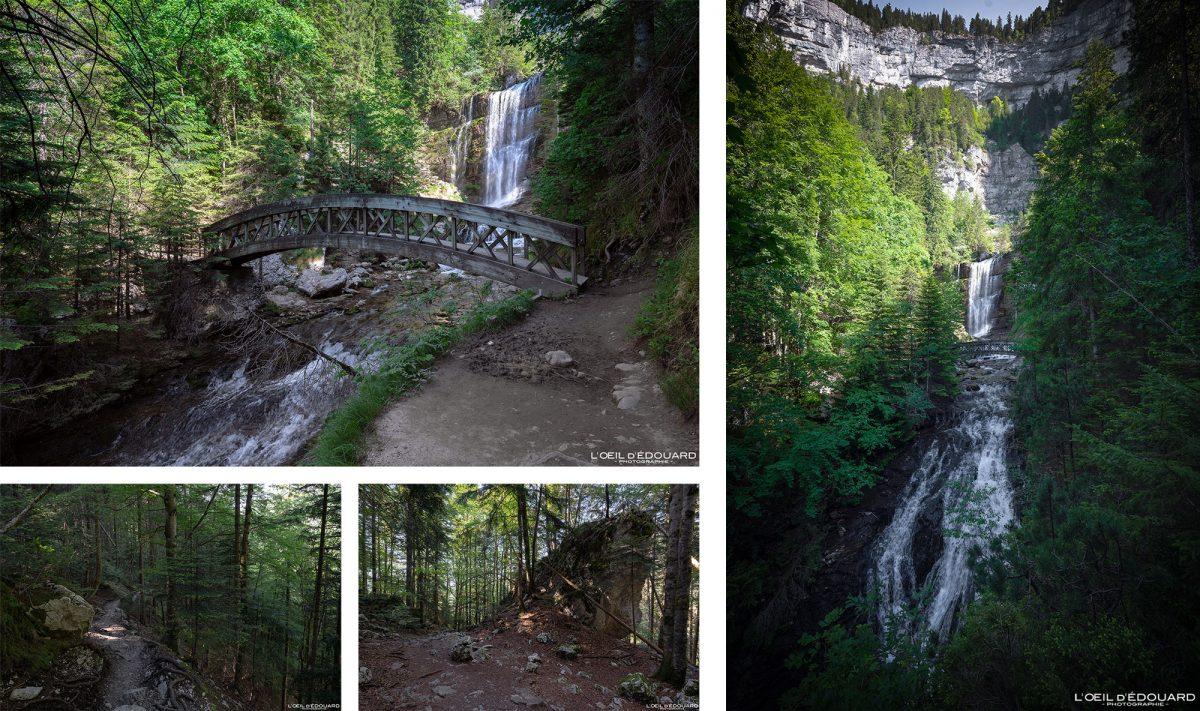 Randonnée Cascade Cirque de Saint-Même Massif de la Chartreuse Savoie Isère Alpes France Montagne Paysage Outdoor French Alps Mountain Waterfall Hike Hiking Trail