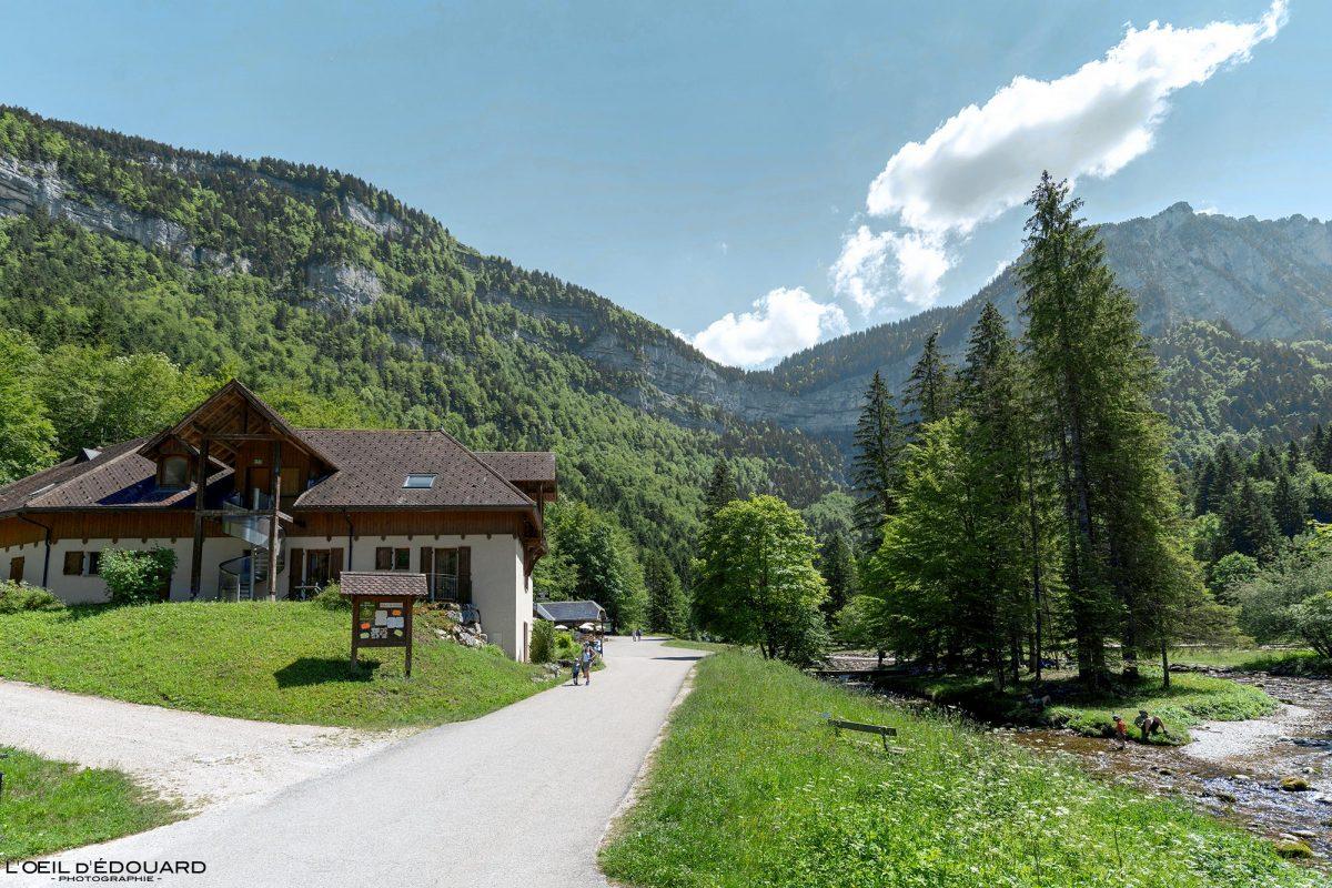 Gîte Chalet Cirque de Saint-Même Massif de la Chartreuse Savoie Alpes France Randonnée Montagne Paysage Outdoor French Alps Mountain Landscape