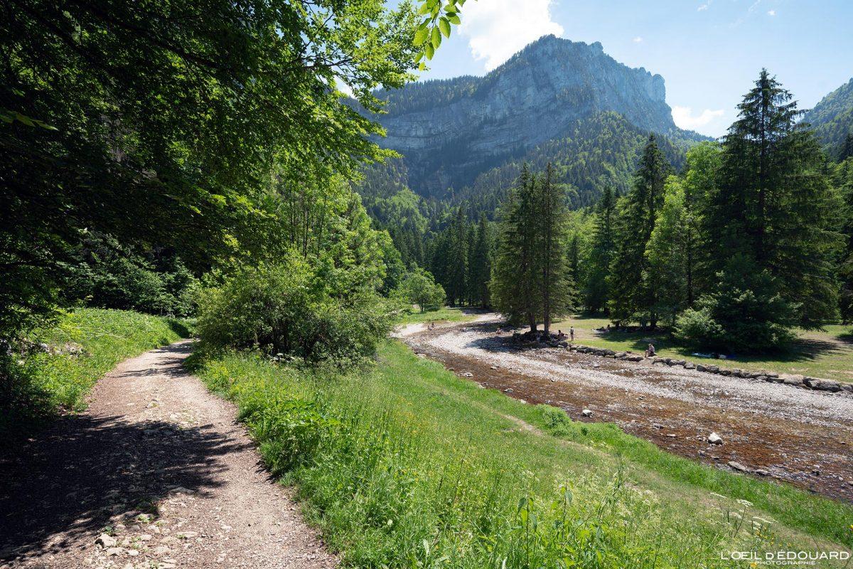 Sentier Randonnée Cirque de Saint-Même Massif de la Chartreuse Savoie Alpes France Montagne Paysage Rivière Outdoor French Alps Mountain River Landscape Hike Hiking Trail