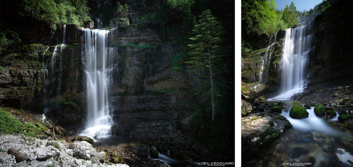 Grande Cascade Cirque de Saint-Même Massif de la Chartreuse Savoie Isère Alpes France Randonnée Montagne Paysage Outdoor French Alps Mountain Waterfall