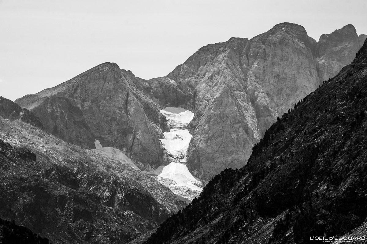 Glacier du Petit Vignemale Pyrénées France Paysage Montagne Outdoor Mountain Landscape