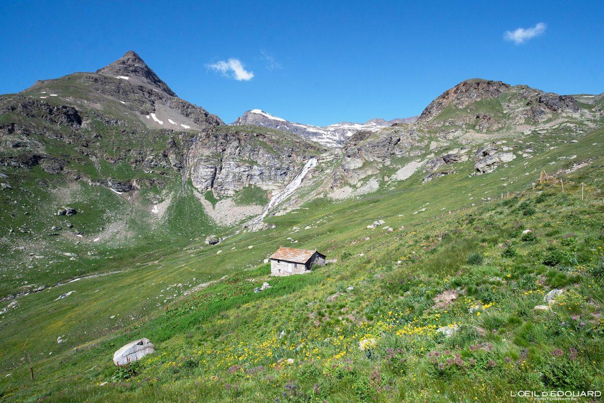 Alpage Chalet du Montet Haute-Maurienne Savoie Alpes Grées France Paysage Montagne Randonnée Outdoor French Alps Mountain Landscape