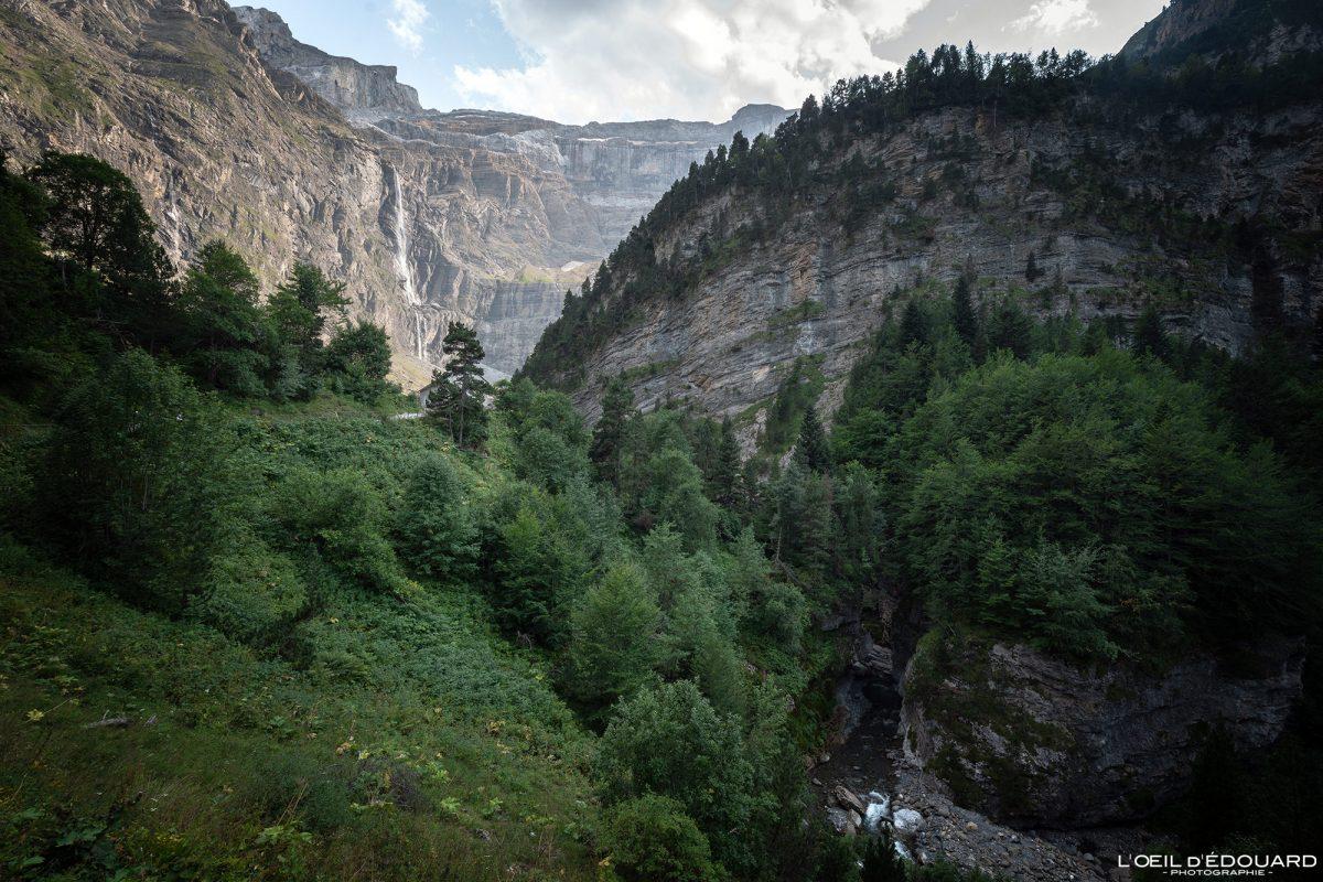 Cirque de Gavarnie Pyrénées France Paysage Montagne Outdoor Mountain Landscape
