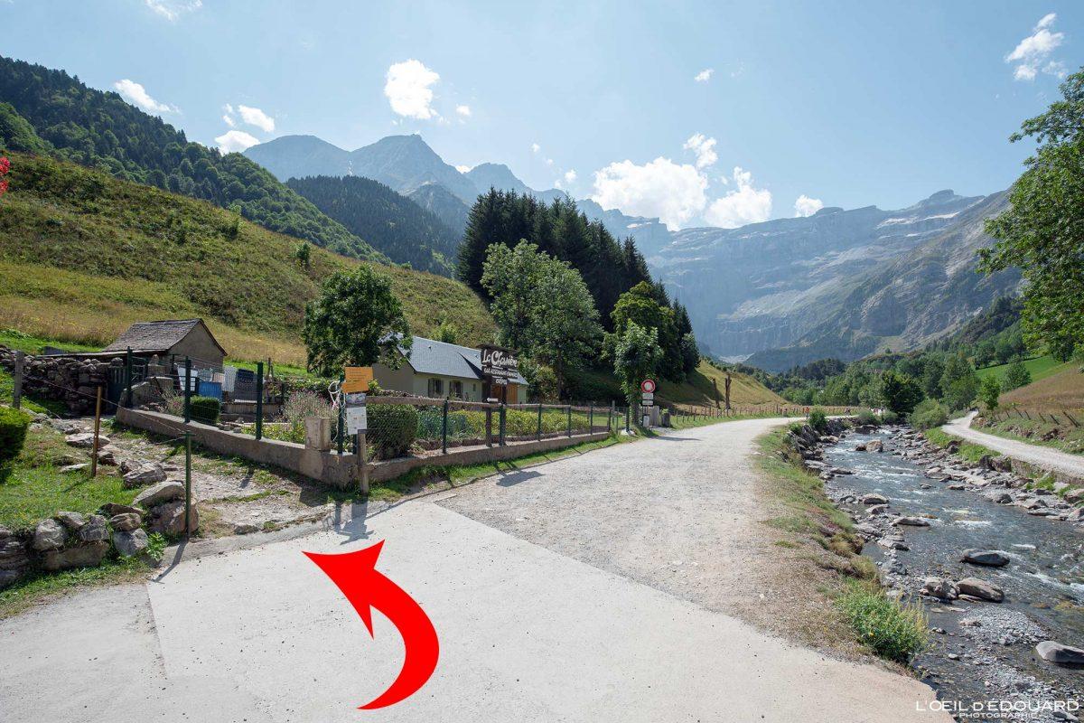 Itinéraire Entortes du Pailha randonnée Gavarnie Pyrénées France Paysage Montagne Outdoor Hiking Mountain Landscape