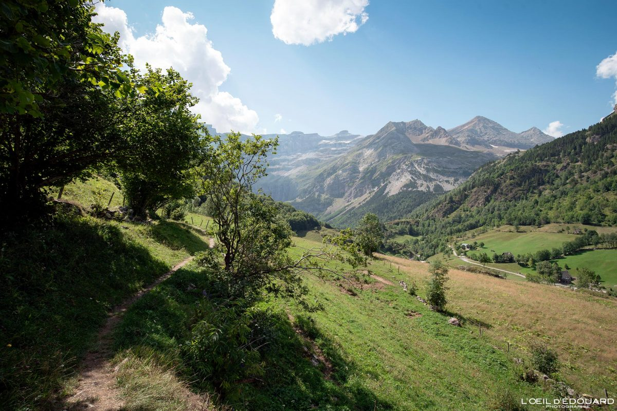 Sentier Entortes du Pailha randonnée Gavarnie Pyrénées France Paysage Montagne Outdoor Hiking Mountain Landscape