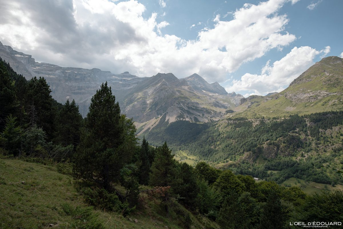 Randonnée Gavarnie Pyrénées France Paysage Montagne Outdoor Hiking Mountain Landscape