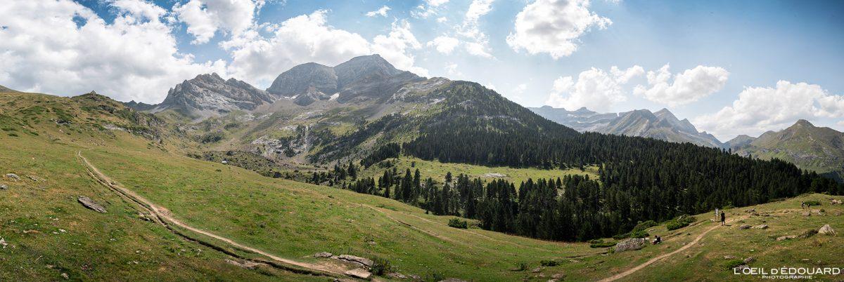 Plateau de Pailla Randonnée Gavarnie Pyrénées France Paysage Montagne Outdoor Hiking Mountain Landscape