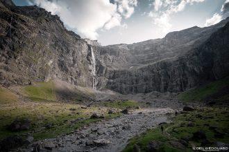 Cascade Cirque de Gavarnie Pyrénées France Paysage Montagne Randonnée Outdoor Hiking Mountain Waterfall Landscape