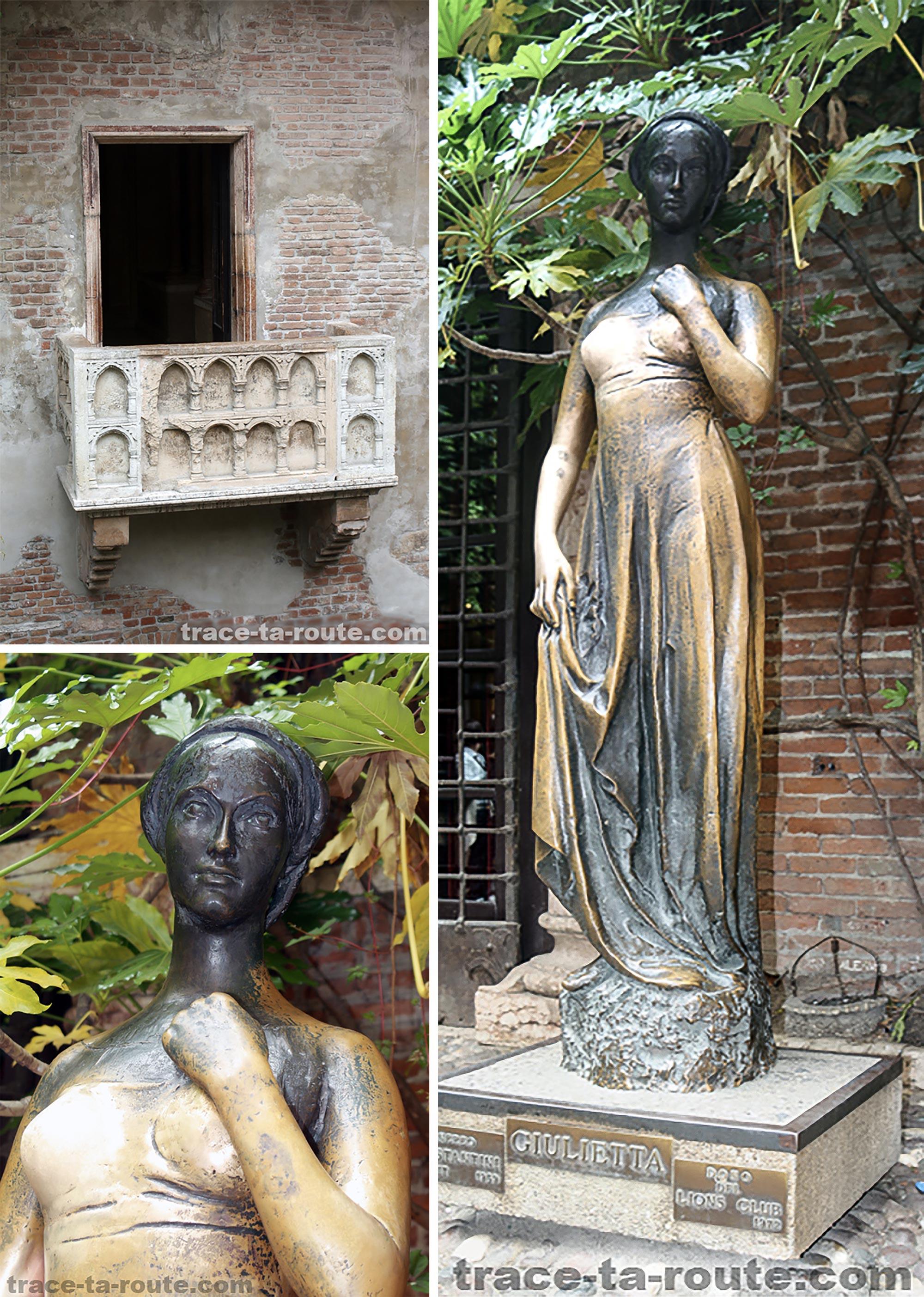 Maison de Juliette Vérone Tourisme Italie Voyage - Casa di Giuletta Verona Italia Visit Italy Travel - Statue Art Sculpture