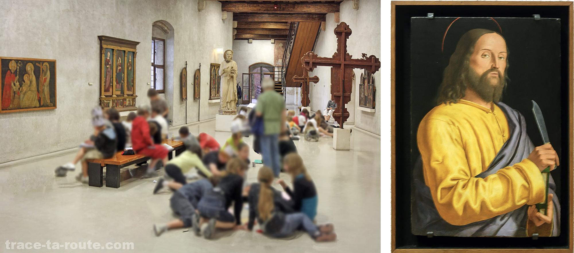 """Musée de Vérone Italie Tourisme Voyage - """"Saint Barthélémy"""" (fin XVe / début XVIe siècle) Francesco MORONE Renaissance Italienne - Museo Castelvecchio Verona Italia Visit Italy Travel Art Painting Museum"""